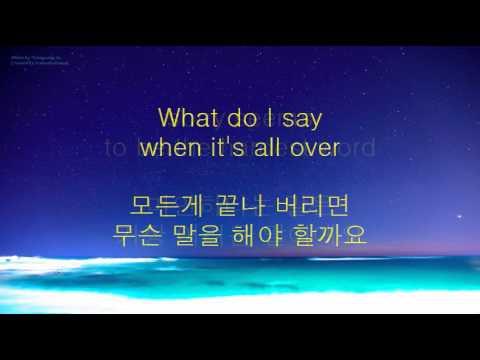 Elton John & Blue  Sorry seems to be the hardest word lyrics 가사 한글 해석