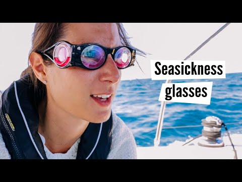 "Are these glasses the ""miracle cure"" against seasickness? 🤓 I tried the Boarding Ring."