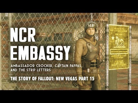 The Story of Fallout New Vegas Part 15: The NCR Embassy & Strip Letters
