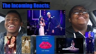 Camila Cabello & MGK Bad Things Performance On Jimmy Fallon REACTION