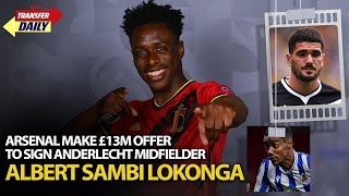 Arsenal Make £13m Offer To Sign Anderlecht Midfielder Albert Sambi Lokonga | AFTV Transfer Daily