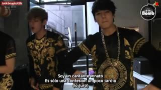 [SUB ESPAÑOL][BANGTAN BOMB] 130812 Singing Born Singer