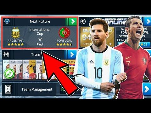 Argentina 🇦🇷 Vs 🇵🇹 Portugal ⚽ International Cup Final 🏆 Dream League Soccer 2018
