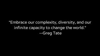 What Does The Afrofuture Say? w/Greg Tate