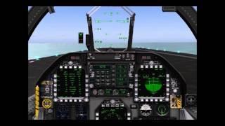 Carrier landing of Boeing FA 18EF Super Hornet and Sikorsky SH-60 Seahawk
