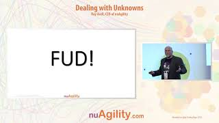 Dealing with unknowns talk at Agile Testing Days 2018