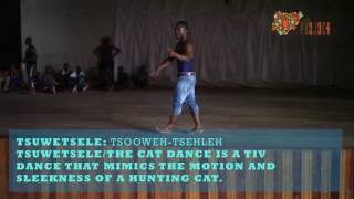 The Tsuwetsele Dance of Benue State