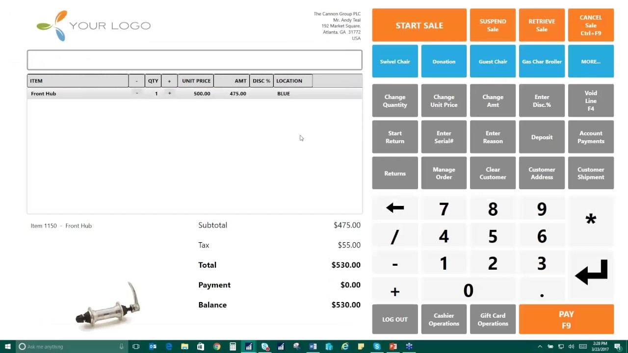 Point of Sale Processing in Microsoft Dynamics NAV