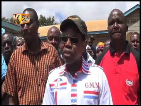 Mwingi residents protest over lack of specialists at the Mwingi level 4 hospital