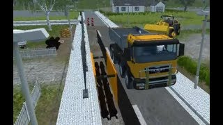 Repeat youtube video Chantier / Travaux / Baustelle Partie1 : Farming Simulator 2013