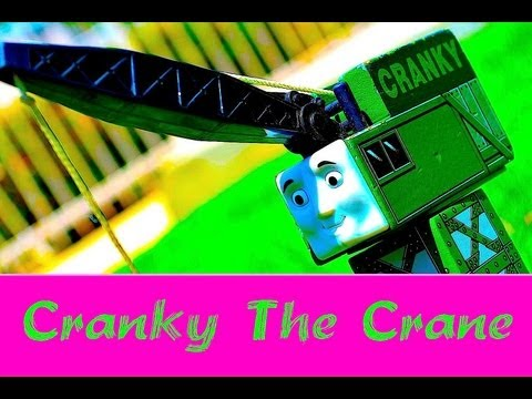 Thomas The Tank Engine & Friends - Cranky The Crane Wooden Toy Railway Mattel Review