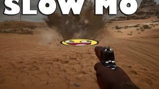 BF1 SLOW-MO EXPLOSIONS & GUNS - Battlefield 1 Gameplay