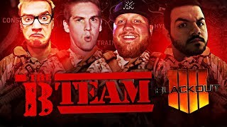 THE B-TEAM!! (ft. Mini Ladd, CouRage & TeePee) | Blackout Battle Royale Highlights #1