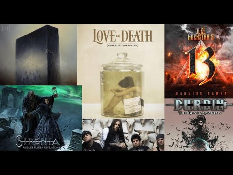 New Album releases Feb 12 2021 Love and Death/Abiotic/Durbin/Humanity's Last Breath + more!
