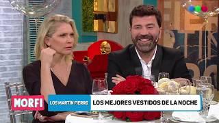 Los mejores looks de los Martín Fierro-Morfi