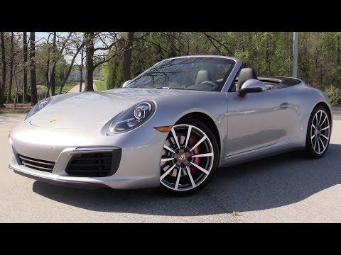2017 Porsche 911 Carrera 4S Cabriolet - Start Up, Road Test & In Depth Review