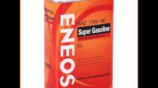 Моторное масло ENEOS Super Gasoline 10W40 SL, 0.946 л, полусинтетическое