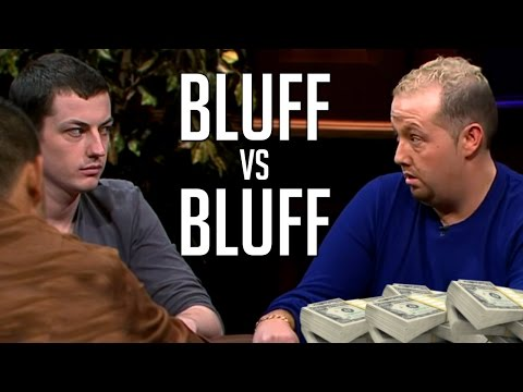 Bluff-Off Between Tom Dwan And Viffer For Piles of Cash