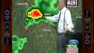 ABC 33/40 Coverage of the April 27, 2011 Outbreak (2:00 to 2:15 pm)