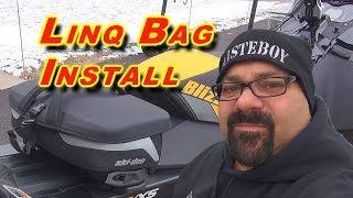 Ski-Doo LINQ Bag Installation