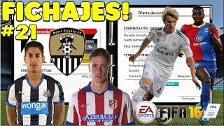 FIFA 16 Modo carrera manager | FICHAJES, NUEVA FORMACIÓN!!! A PUNTO!!! #21