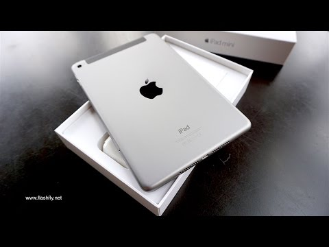 iPad mini 4 Wi-Fi + Cellular 128GB (Space gray) : Unbox (Thailand)