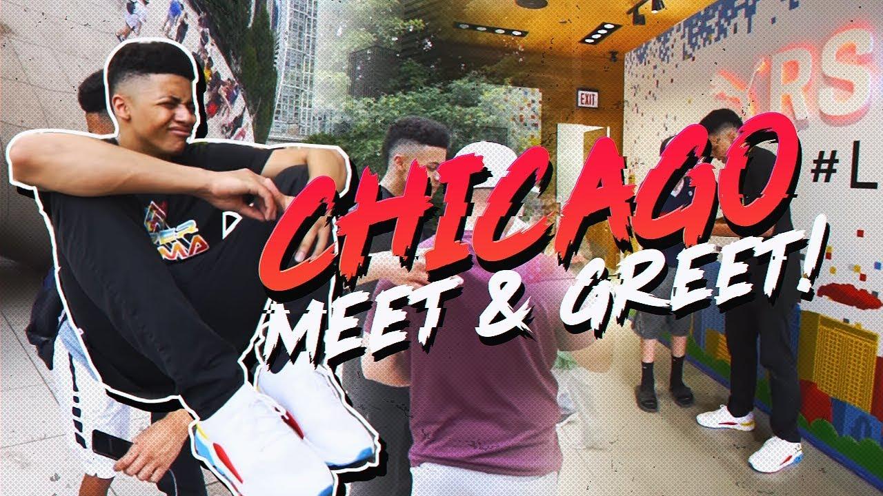 chicago bulls meet and greet