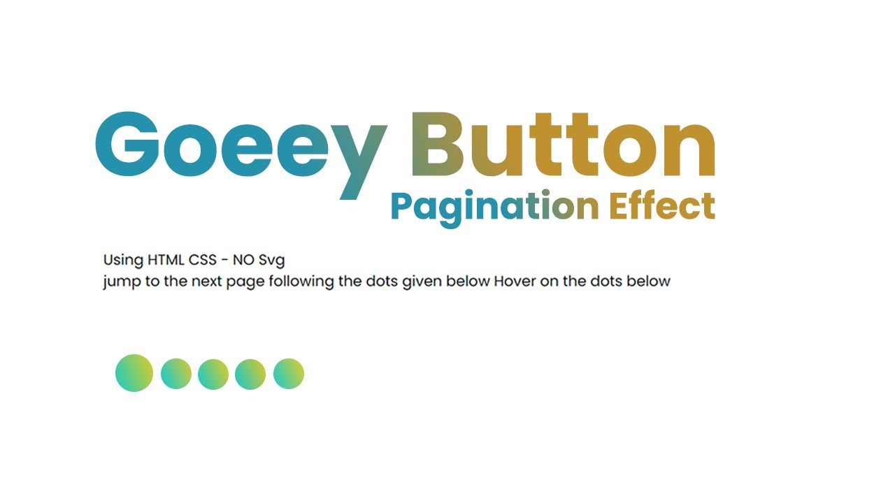 Goeey Animated Pagination Design in Real World Website - Goeey Pagination