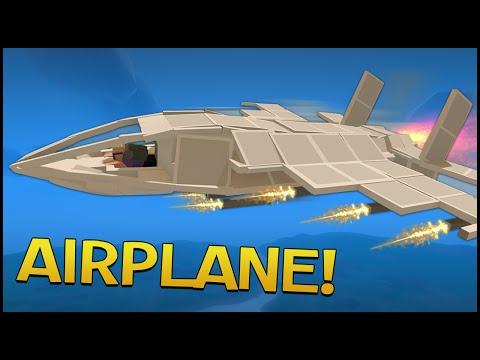 Unturned 3.0 Building - FLYING JET FIGHTER PLANE!