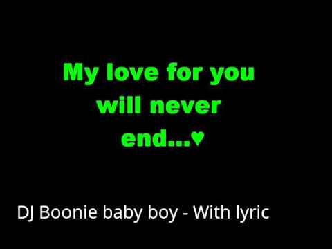 dj boonie baby boy lyrics