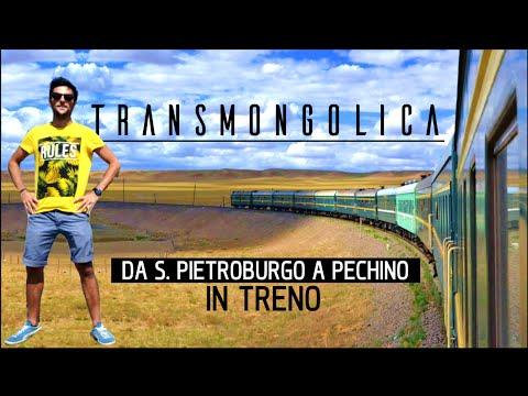 Documentario Transiberiana completo: da San Pietroburgo / Mosca a Pechino in treno HD