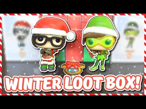 Overwatch - OPENING A REAL WINTER LOOT BOX thumbnail
