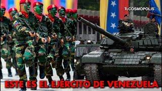 Este es el EJER... de VENEZUELA que ENFRENTARÍA a ESTADOS UNIDOS