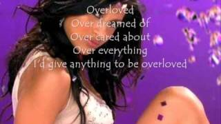 Paula-DeAnda Overloved (Lyrics)