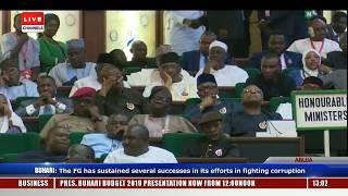 Full Speech Of President Buhari At NASS Pt.2 |Live Event|