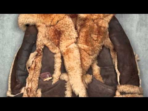 Elvis Presley's sheepskin coat - YouTube