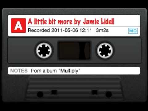 A little bit more by Jamie Lidell