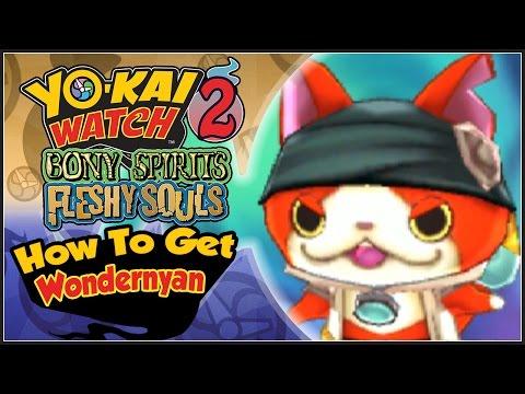 Yo-Kai Watch 2 - How To Get Wondernyan With QR Code! [YW2 Tips & Tricks]