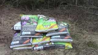 Sheet Mulching, Mason Bees, Black Currant Cuttings,  Artichoke, Fig And Cara Potatoes