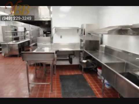 Restaurants For Sale Or Lease Fully Equipped Kitchen Orange