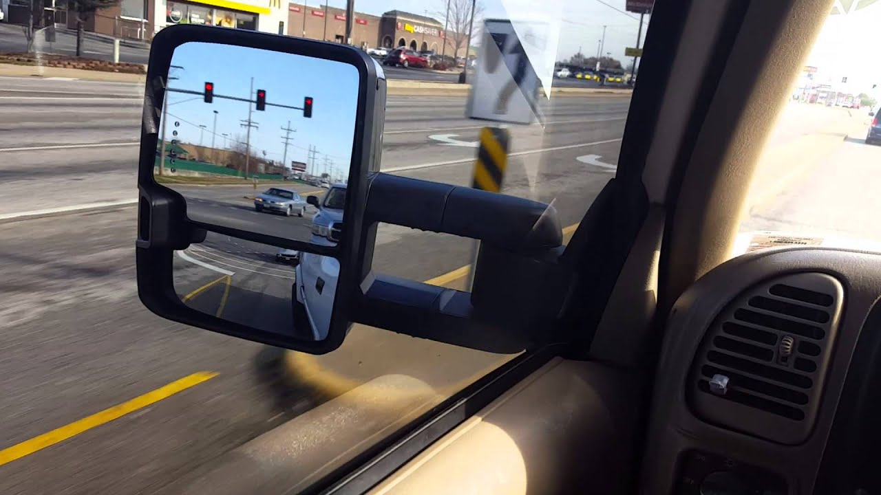 2015 chevy tow mirror installation
