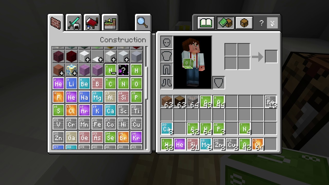 Minecraft Education Edition Chemistry Update Youtube