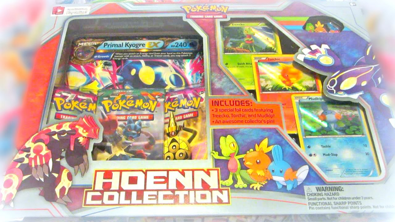 Primal Kyogre Card Opening Pokemon Kyogre Reversion Primal Clash Hoenn Collection Box