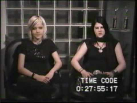 Kittie Interview for Concrete Part 3 of 4 - Morgan Lander & Lisa Marx