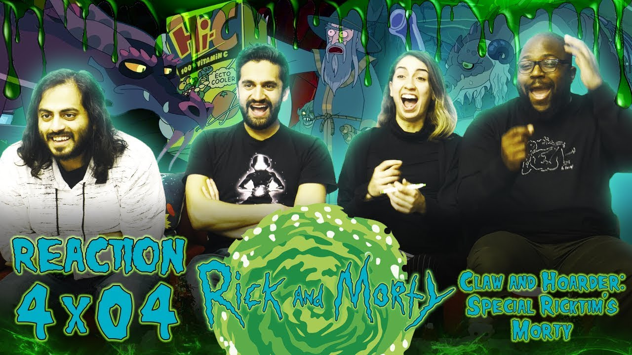 Download Rick and Morty - 4x4 Claw and Hoarder: Special Ricktim's Morty - Reaction