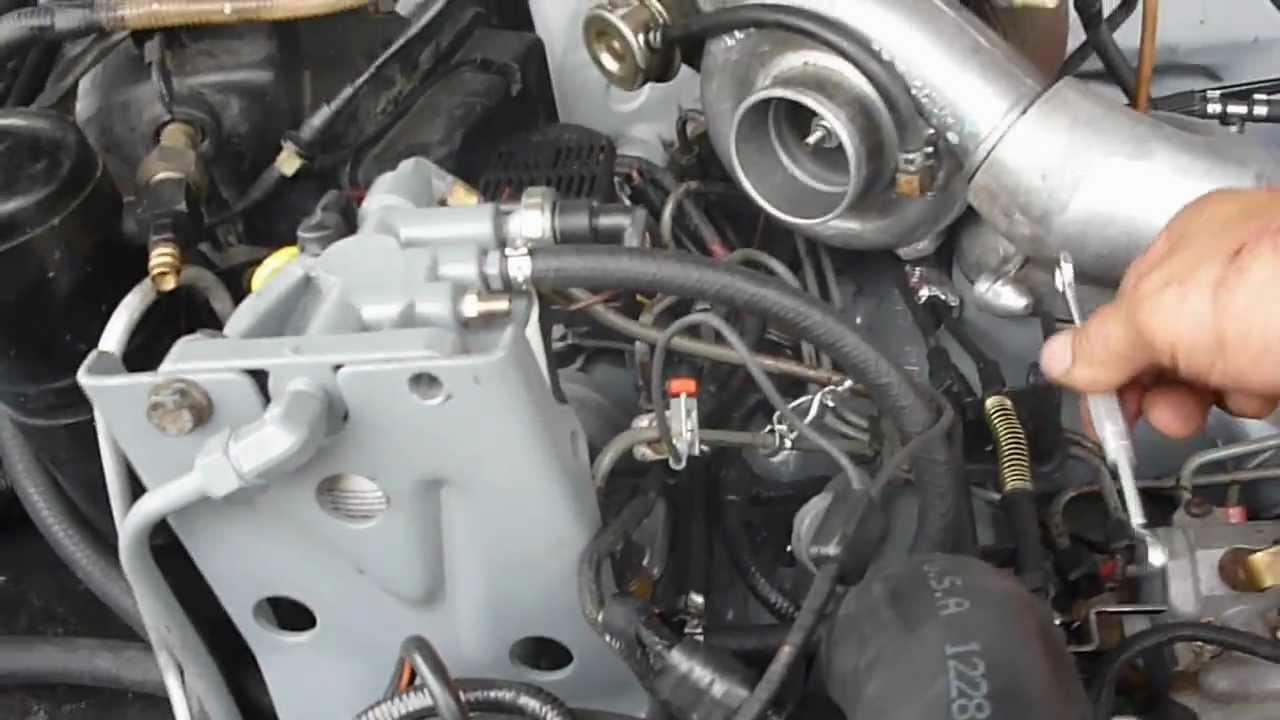 hyster forklift wiring diagram 2016 dodge dart speaker diesel pump timing - youtube
