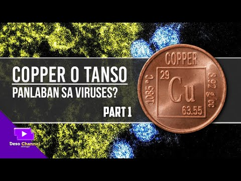 COPPER CAN KILL VIRUSES ? (2020) TAGALOG - ALAMIN