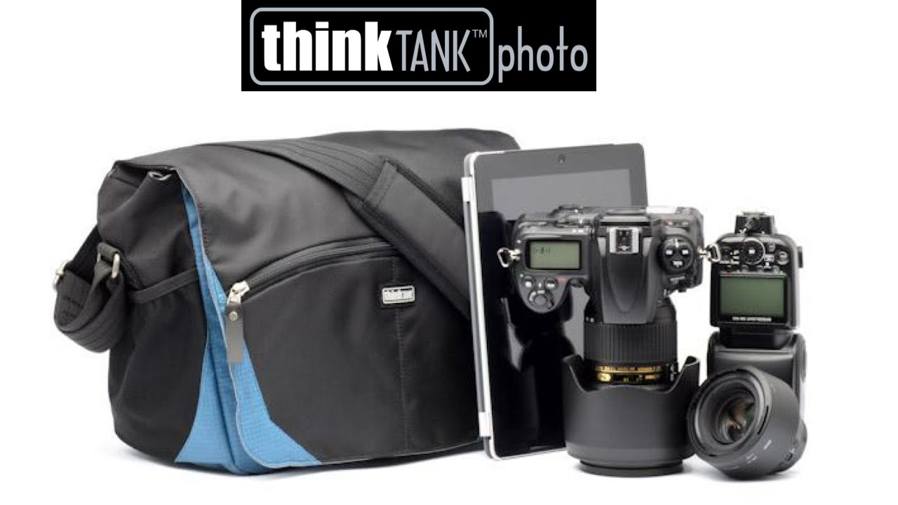 fb5aacdcbb CityWalker camera shoulder bag - Think Tank Photo - YouTube