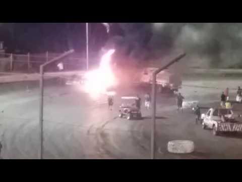 Bakersfield speedway. Thomas Rheet said it best.crash and burn.