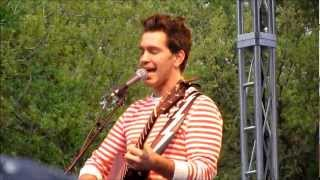 Andy Grammer - Lunatic ( Downtown Food & Wine Festival 2-24-13 Orlando, FL )